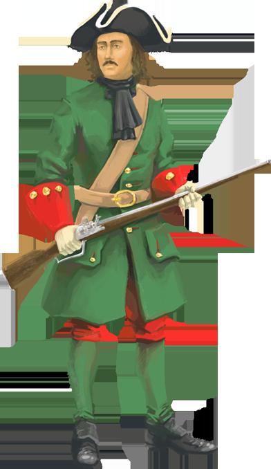 приложите солдат петровских времен картинки нему подъехать навигатору